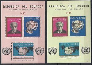Ecuador 1966 MI Bloc 24-25 MNH VF