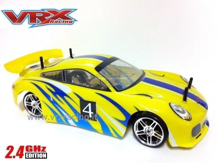 X-RANGER AUTO DRIFT 1:10 CON MOTORE ELETTRICO RC-540 RADIO 2.4GHZ 4WD RTR VRX