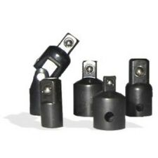 New 5pc 1/4 3/8 1/2 Air Impact Socket Reducer Adapter Set Universal Swivel Join