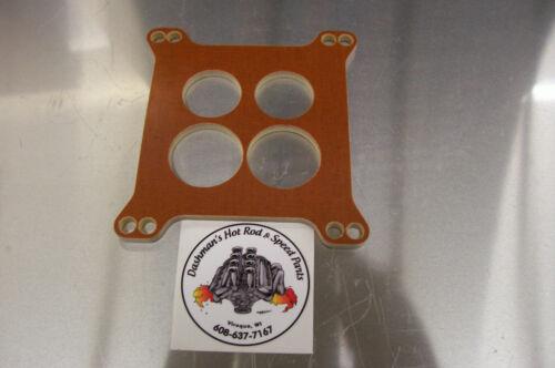 For Edelbrock Performer Thunder Phenolic Insulator Spacer Carb Riser 500 600 650