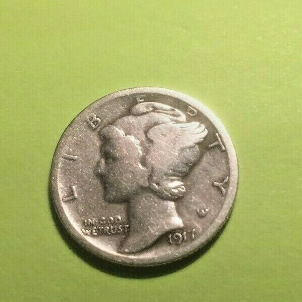 1944-d Washington Quarter Average Grade of Coin You Will Receive is Photographed