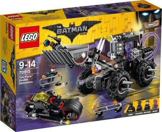 LEGO - Batman Movie: Two-Face Double Demolition Building Set 70915
