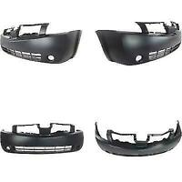 NEW FRONT BUMPER COVER PRIMED FITS NISSAN QUEST NI1000218 2004-2006
