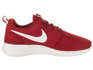 ddb055c78405 Nike Roshe One SE Men Shoe Color Gym Red   Team Red Sail   844687 ...