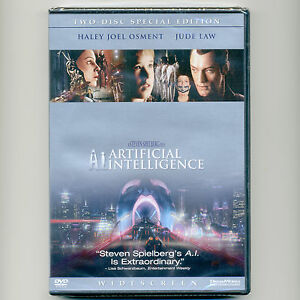 A-I-Artificial-Intelligence-2001-PG-13-family-sci-fi-movie-new-DVDs-Osment-Law