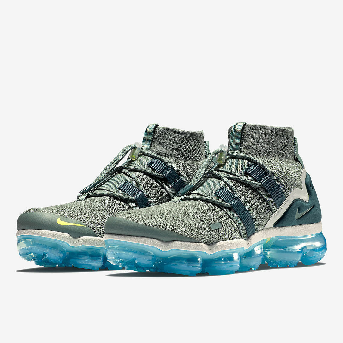 Nike Air Vapormax Flyknit  FK Utility Utility Utility Player Clay Green Blue SZ 8.5 AH6834-300 d07023