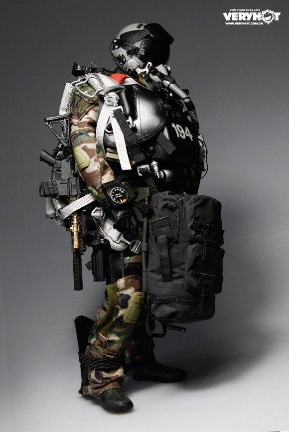 VERYHOT VH 1040 Us Navy SEAL HALO UDT JUMPER traje versión 1 6 no figura