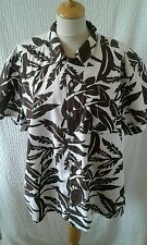 1940s 1950s style  Rockabilly Hawaiian  shirt  size XL chest 48'
