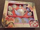 13 Piece Child's Tea Set New In Box Made In China
