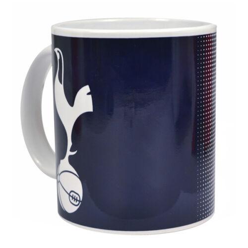 TOTTENHAM HOTSPUR FC HALFTONE DESIGN CERAMIC TEA COFFEE MUG CUP XMAS GIFT NEW