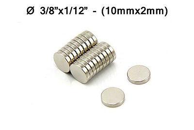 "3//8/""x3//8/"" Fridge Magnet 10mmx10mm Super Strong Neodymium Disc Magnets 10x10mm"