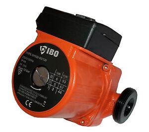 Chauffage Central circulateur pompe IBO 25-60-130 remplace GRUNDFOS-Myson-WILO
