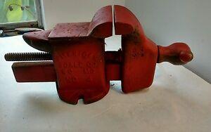 American Scale Co No 4 Vise Vintage Antique Ebay