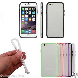 Pellicola-Custodia-Bumper-Cover-TPU-Flessibile-Multicolor-per-Apple-iPhone