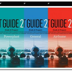 Details about ASA AMT Test Guide Bundle, Airframe, Powerplant, General FREE  SHIPPING