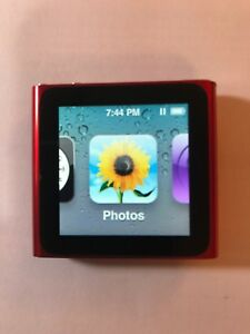 Apple-iPod-nano-6th-Generation-Product-Red-16-GB-Works-Great-Good-Condition