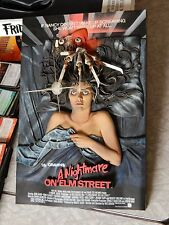 A Nightmare on Elm Street 3D Movie Poster Freddy Krueger Mcfarlane