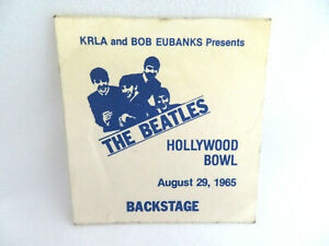 The-Beatles-Hollywood-Bowl-1965-Backstage-Pass