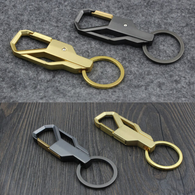 New Men Creative Alloy Metal Keyfob Gift Car Keyring Keychain Key Chain Ring Top
