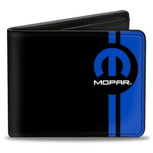 Leather-style-PU-Mopar-logo-wallet-great-gift-Dodge-Plymouth-Chrysler
