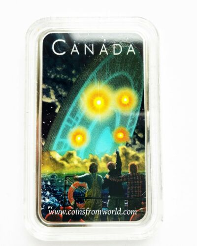 Canada 2019 20$ Shag Harbour UFO Incident #2 1oz Silver Coin Royal Canadian Mint