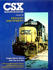 CSX-Transportation-Volume-One-Freight-Equipment-Motive-Power-amp-Cars-in-Color