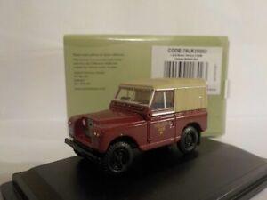 Land-Rover-Series-2-swb-Canvas-British-Rail-Oxford-Diecast-1-76-New-Dublo-Rail