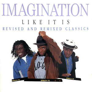 Imagination-CD-Like-It-Is-Revised-And-Remixed-Classics-Europe-EX-EX
