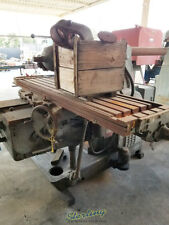 19 12 X 88 Used Kearney Amp Trecker Plain Type Horizontal Milling Machine With Un