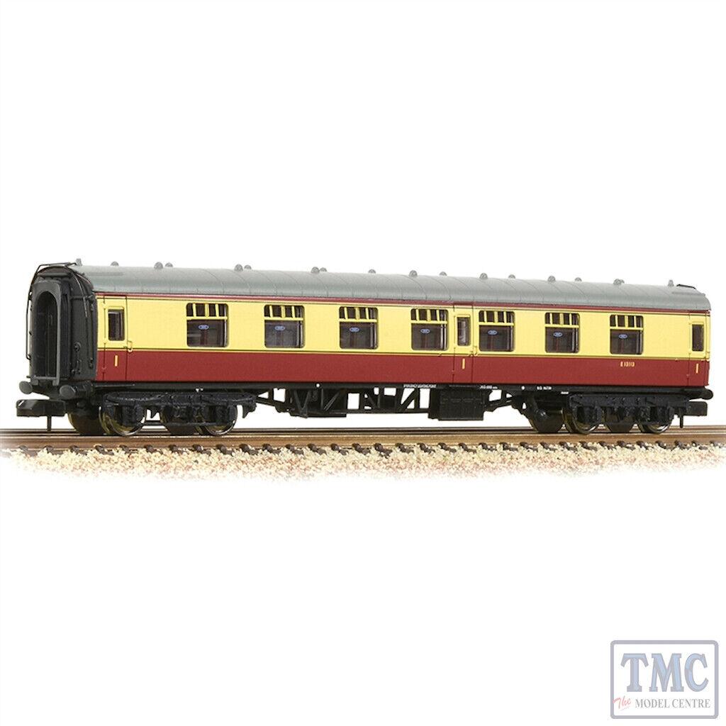 374-160A Graham Farish N Gauge BR Mk1 FK First Corridor BR Crimson & Cream