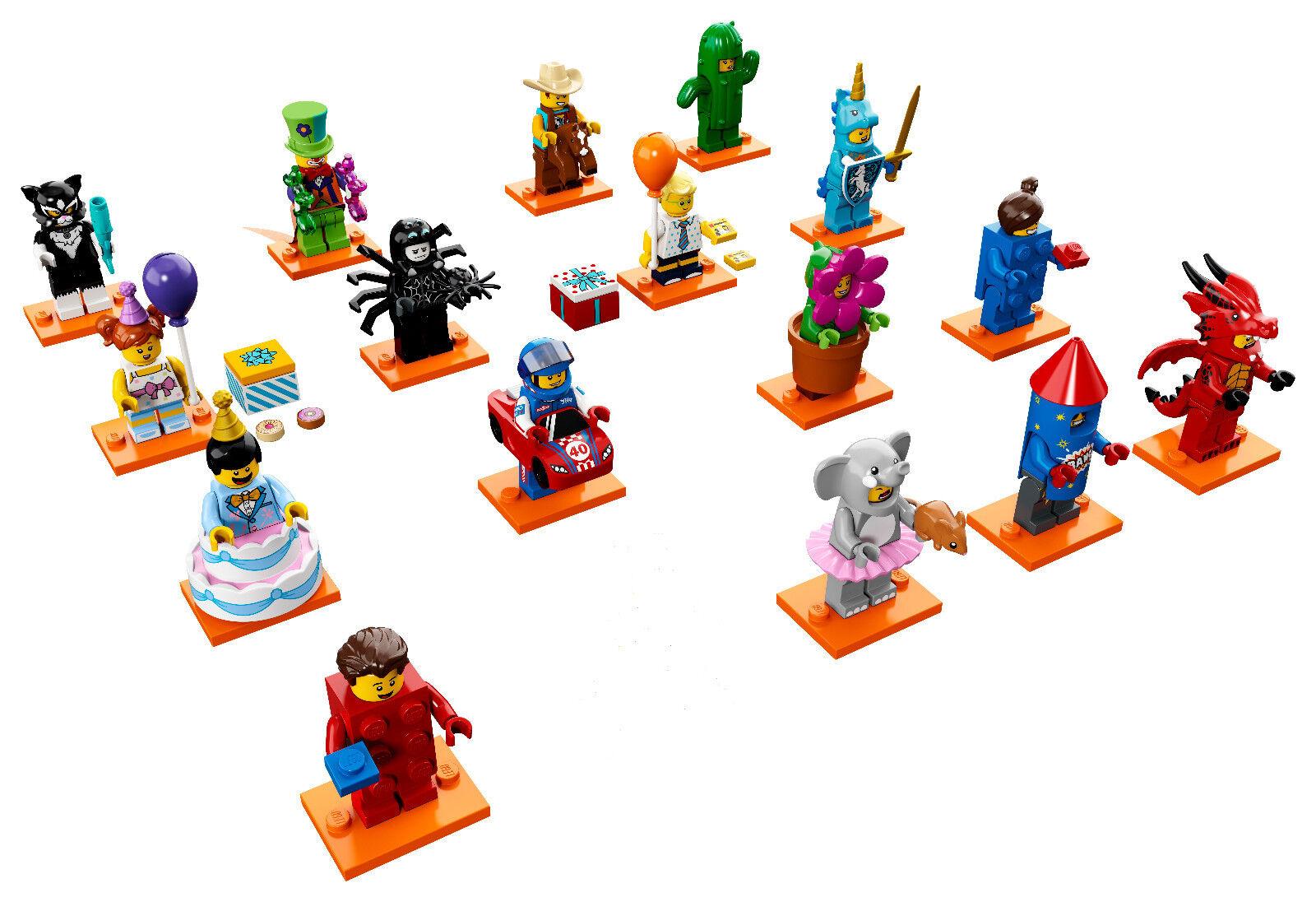Lego spécial SERIE 18 fête 71021 16 figurines sans Policier