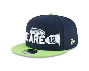 check out 9d125 58725 Image is loading Seattle-Seahawks-New-Era-2018-NFL-Draft-Spotlight-