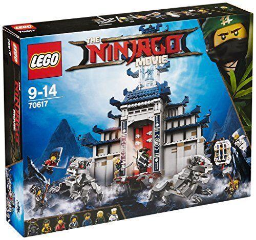 LEGO 70617 Le Temple De L' arme Ultime SUPREME 100% NEUF NINJA GO MOVIE NINJAGO