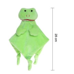 Wingingkids Soft Blanket Toy for Baby Comforters Green Frog NEW FREE UK POSTAGE