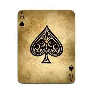 vintage spade card  Details about Framed Print - Vintage Style Ace of Spades Playing Card  (Picture Poster Art)