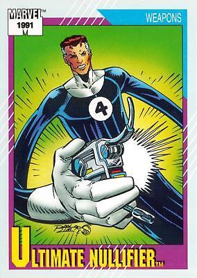 Ultimate Nulifier. #130 1991 Marvel Universe II One Single Base Card