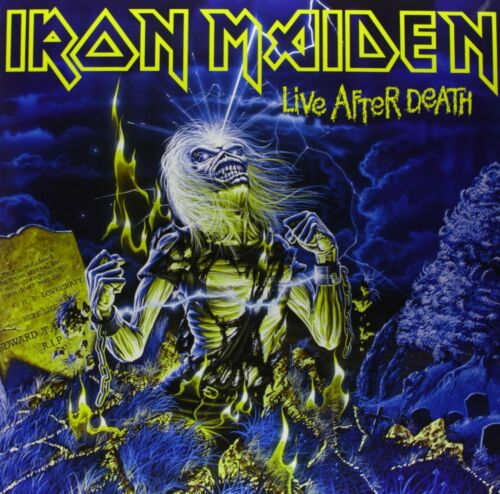 IRON MAIDEN Live After Death BANNER HUGE 4X4 Ft Fabric Poster Tapestry Flag art