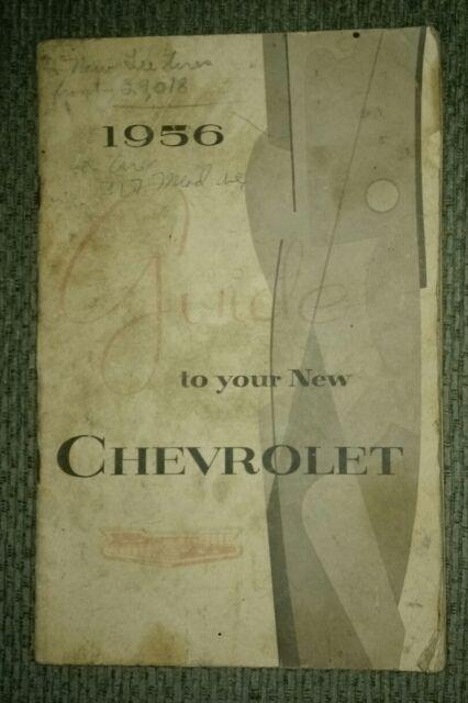 Premium 1956 Manual Guide