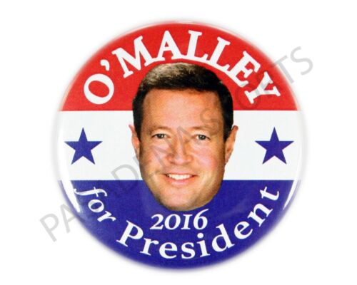 """2016 MARTIN O/'MALLEY for PRESIDENT 2.25/"""" CAMPAIGN BUTTON mods"""
