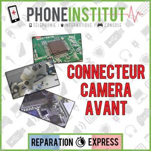 Reparation-carte-mere-iphone-5S-connecteur-camera-avant
