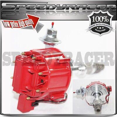 High Energy Ignition Distributor Red fit Pontiac 301 326 389 400 421 428 455 V8