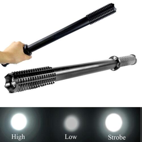 49 cm Portable Baseball Bat LED Flashlight 2000 Lumens Super Bright Torch Light