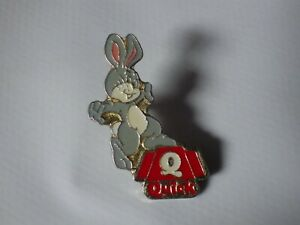 Pin-039-s-Vintage-Collector-Pin-Adv-Fast-Food-Quick-Bunny-Lot-039