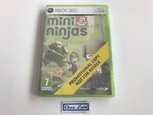 Mini-Ninjas-Promo-Microsoft-Xbox-360-PAL-EUR-Neuf-Sous-Blister