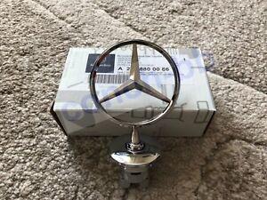 Insignia-emblema-estrella-de-Mercedes-capo-levantado-Cromo-C-E-S-Clase-CLK-A2218800086