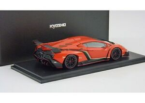 1-43-KYOSHO-LAMBORGHINI-VENENO-ORANGE-ITEM-5571OR