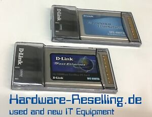 D-Link-Fast-Ethernet-Cardbus-Adapter-32-bit-3-3V-Notebook-Adapter-Dfe-690TXD