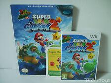 ►►►► NINTENDO Wii / Super Mario Galaxy 2 Jeu + DVD + Guide Officiel [ PAL FR ]