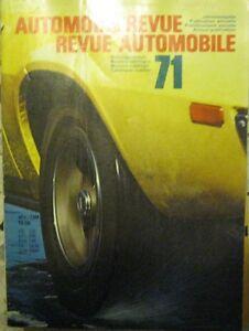 Automobil-Revue-Katalog-1971-Catalogue-Revue-Automobile