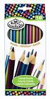 Royal Langnickel 12 pc METALLIC COLOR Colored Pencils Drawing Set Sketching Draw